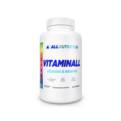 ALL Vitaminok és ásványi anyagok, 120 kapszula