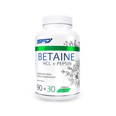 Betain HCL + pepszin, 120 tabletta