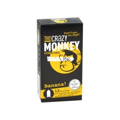 THE CRAZY MONKEY Banana óvszerek