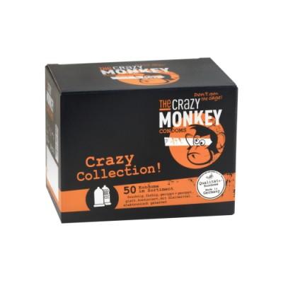 THE CRAZY MONKEY Crazy Collection óvszerek