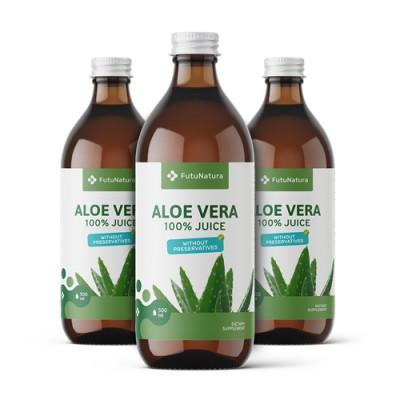 Aloe vera - 100% szörp, 500 ml
