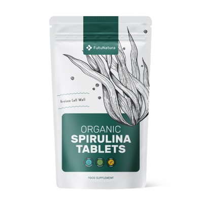 Bio spirulina tabletták