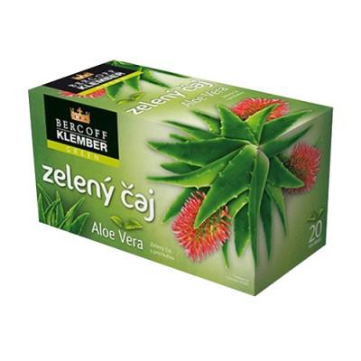 Zöld tea aloe verával