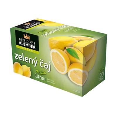Zöld tea citrommal