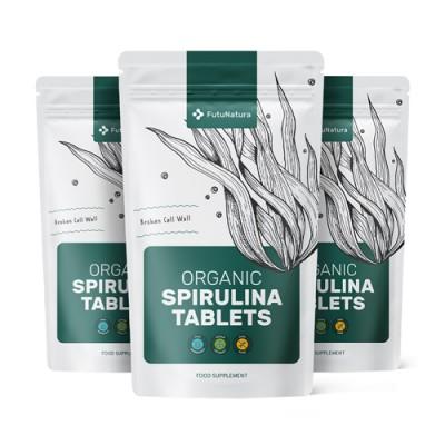 Bio spirulina tabletta csomag