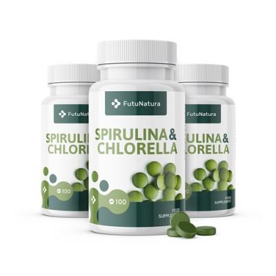 Spirulina és Chlorella algák