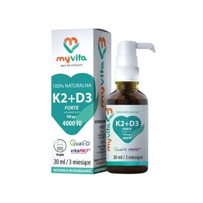 K2 + D3-vitamin cseppek