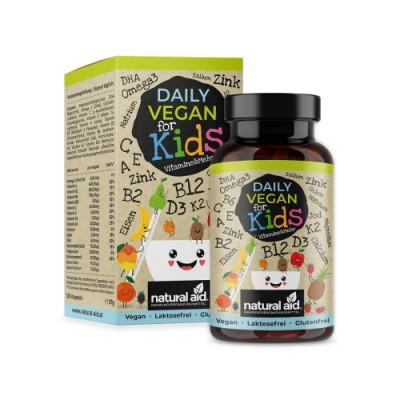 Vegán vitaminok és ásványi anyagok gyerekeknek
