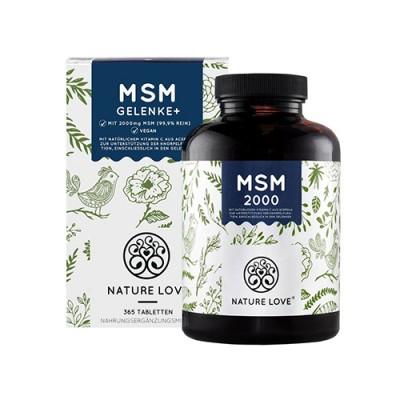MSM tabletták