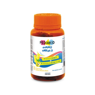 Omega 3 vitaminokkal gyerekeknek, 60 gumimaci