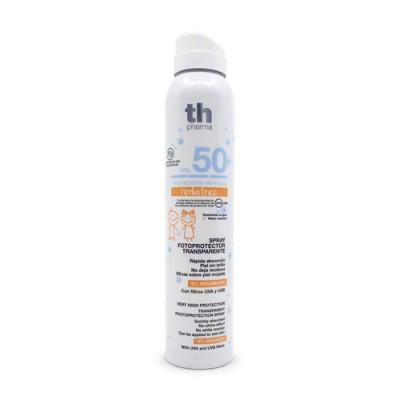 Átlátszó napvédő spray gyerekeknek SPF 50+