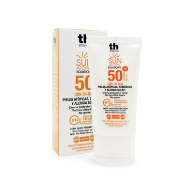 Napvédő krém atópiás arcbőrre SPF 50+