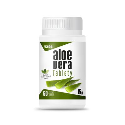 Aloe vera tabletta