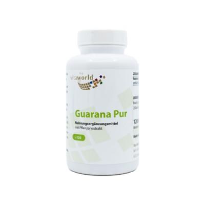 Guarana koffeinnel
